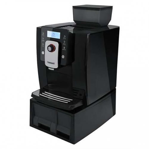 Sort Lamanti Spazio 1601 kaffemaskine.