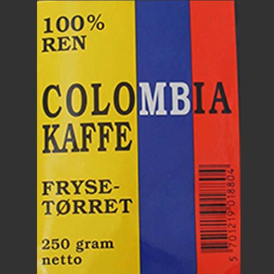 100% ren Colombia Kaffe instant