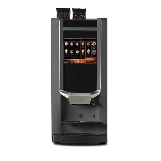 de Jong Duke Zia - en alsidig kaffeautomat til hele bønner.
