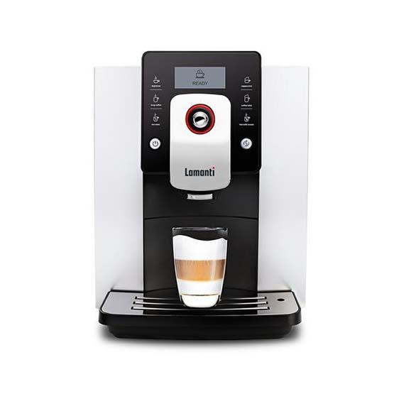 Hvid Lamanti Casa 1601 kaffemaskine