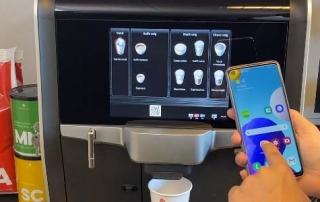 Betjen kaffemaskinen med mobilen og QR