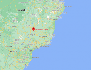 Brazil fazenda san martin