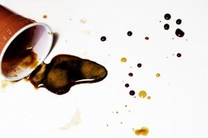 Spildt kaffe