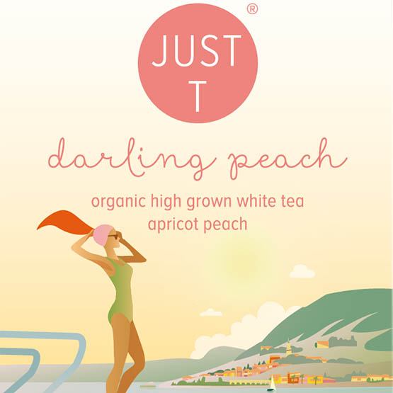 Just-T Darling peach