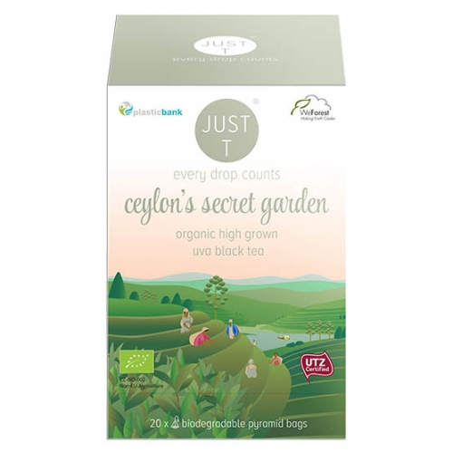 Just-T Ceylon secret garden