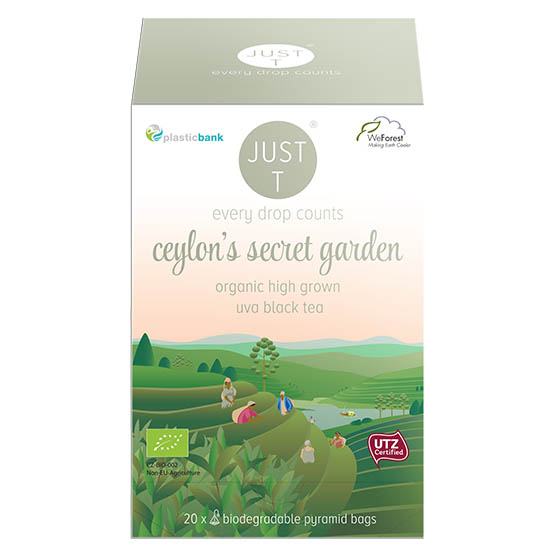 Just-T Ceylon secret garden