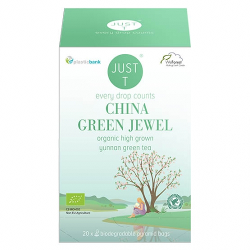 Just-T China green jewel