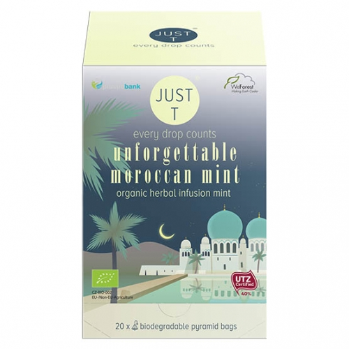 Just-T Unforgettable moroccan mint